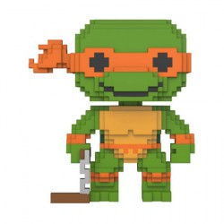 Figurine Pop Teenage Mutant Ninja Turtles 8-bit Michelangelo Funko Boutique Geneve Suisse
