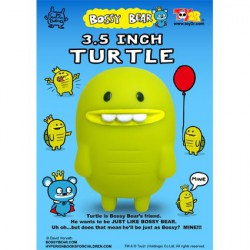 Figuren Turtle von David Horvath Toy2R Uglydoll und Bossy Bear Genf