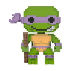 Figurine Pop Teenage Mutant Ninja Turtles 8-bit Donatello Funko Boutique Geneve Suisse