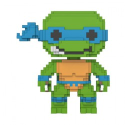 Figurine Pop Teenage Mutant Ninja Turtles 8-bit Leonardo Funko Boutique Geneve Suisse