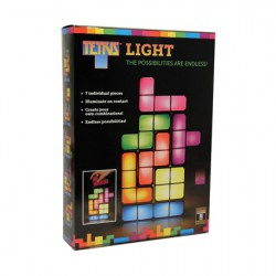 Figurine Lampe Led Tetris Modulable Boutique Geneve Suisse