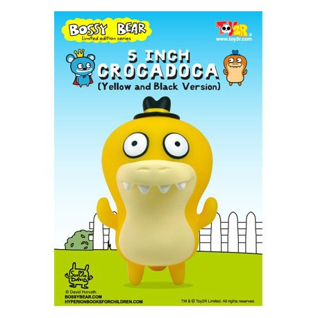 Figur Crocadoca Jaune Toy2R Uglydoll and Bossy Bear Geneva