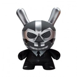 Figurine Dunny Batman Black Mask par DC comics x Kidrobot Kidrobot Designer Toys Geneve