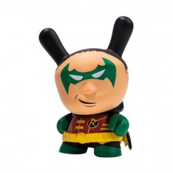 Kidrobot Dunny Batman x Kidrobot Robin