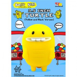 Figurine Turtle Jaune par David Horvath Toy2R Boutique Geneve Suisse