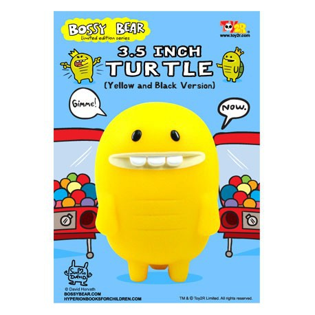 Figur Turtle Jaune by David Horvath Toy2R Geneva Store Switzerland