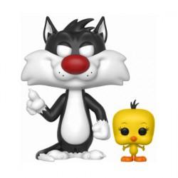 Figurine Pop Looney Tunes Vinyl Sylvester and Tweety Funko Boutique Geneve Suisse