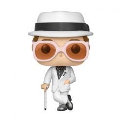 Figurine Pop Music White Suit Elton John (Rare) Funko Boutique Geneve Suisse