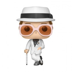 Figurine Pop Rocks Series 3 White Suit Elton John Funko Boutique Geneve Suisse