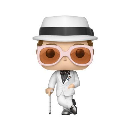 Figur Pop Music White Suit Elton John (Rare) Funko Geneva Store Switzerland