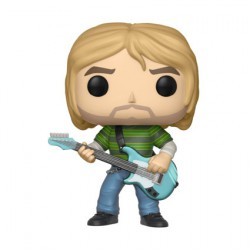 Figurine Pop Rocks Teen Spirit Kurt Cobain (Rare) Funko Boutique Geneve Suisse