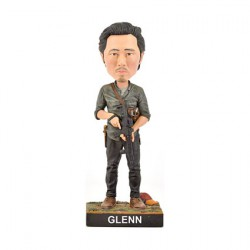 Figurine The Walking Dead Glenn Bobble Head en Résine Royal Bobbleheads Boutique Geneve Suisse