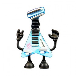 Figur Bent World Beats Da Jam Tour Version by MAD (Jeremy Madl) Kidrobot Geneva Store Switzerland