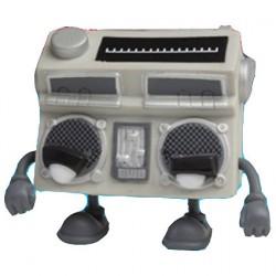 Figuren Bent World Beats Boomer Studio Version von MAD (Jeremy Madl) Kidrobot Designer Toys Genf