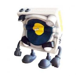 Figuren Bent World Beats Mr. Spins Tour Version von MAD (Jeremy Madl) Kidrobot Designer Toys Genf