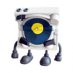 Figur Bent World Beats Mr. Spins Studio Version by MAD (Jeremy Madl) Kidrobot Designer Toys Geneva