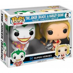 Figurine Pop DC Heroes Beach Joker et Harley Quinn Edition Limitée Funko Boutique Geneve Suisse