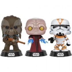 Figuren Pop Star Wars Tarfful, Unhooded Emperor, Utapau Clone Limitierte Auflage Funko Figuren Pop! Genf