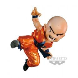 Figurine Dragon Ball Scultures Metalic Version Krilin Funko Précommande Geneve