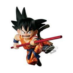Figurine Dragon Ball Scultures Metalic Version Young Son Goku Funko Précommande Geneve