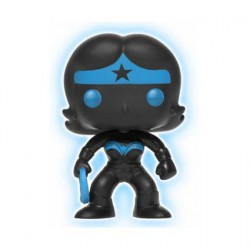 Figurine Pop DC Justice League Wonder Woman Silhouette Phosphorescent Edition Limitée Funko Figurines Pop! Geneve