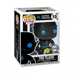 Figur Pop Glow in the Dark DC Justice League Flash Silhouette Limited Edition Funko Geneva Store Switzerland