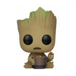 Pop Guardians Of The Galaxy 2 Groot whit Candy Bowl Edition Limitée