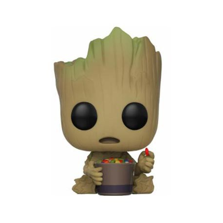 Figurine Pop Guardians Of The Galaxy 2 Groot whit Candy Bowl Edition Limitée Funko Figurines Pop! Geneve