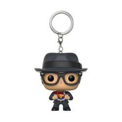 Figurine Pop Pocket Porte-clés DC Comics Clark Kent Funko Figurines Pop! Geneve
