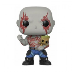 Figurine Pop Les Gardiens de la Galaxie 2 Drax avec Groot Edition Limitée Funko Boutique Geneve Suisse