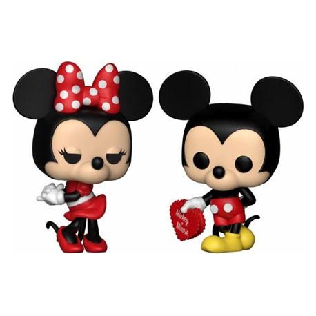 toys pop disney valentine mickey and minnie limited edition funko s