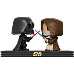 Figurine Pop Star Wars Moments Darth Vader & Obi Wan Kenobi Edition Limitée Funko Boutique Geneve Suisse