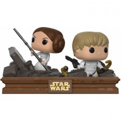 Figur Pop Star Wars Moments Luke & Leia Trash Compactor Limited Edition Funko Geneva Store Switzerland