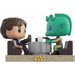 Figurine Pop Star Wars Moments Han Solo & Greedo Cantina Edition Limitée Funko Boutique Geneve Suisse