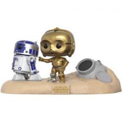 Figuren Pop Star Wars Moments R2-D2 & C-3PO Desert Limitierte Auflage Funko Genf Shop Schweiz