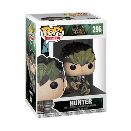 figurine pop monster hunter