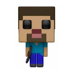 Figurine Pop Games Minecraft Steve (Rare) Funko Boutique Geneve Suisse
