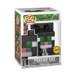 Figurine Pop Minecraft Ocelot Tuxedo Cat Chase Edition Limitée Funko Boutique Geneve Suisse