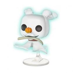 Figurine Pop Disney L'Étrange Noël de Monsieur Jack Zero with Bone Chase Phosphorescent Edition Limitée Funko Boutique Geneve...