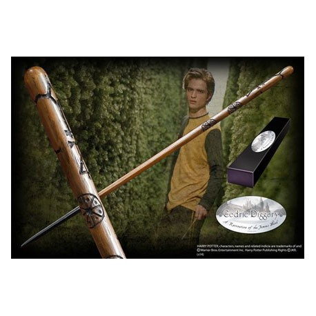 Figur Harry Potter Cedric Diggory Wand Noble Collection Geneva Store Switzerland