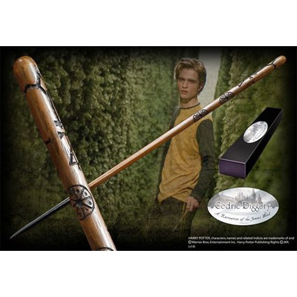 Toys Harry Potter Cedric Diggory Wand Noble Collection Swizerland G
