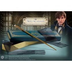 Figurine Baguette Magique Les Animaux Fantastiques Newt Scamander Noble Collection Boutique Geneve Suisse