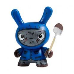 Figuren Kidrobot Dunny Scared Silly Cyrus Variant von Jenn & Tony Bot Kidrobot Designer Toys Genf