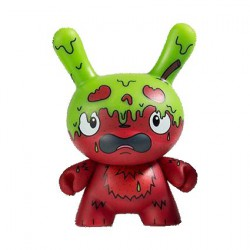 Figur Scared Silly Dunny G.M.D by Jenn & Tony Bot Kidrobot Designer Toys Geneva