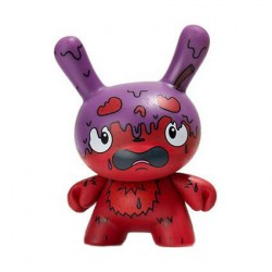 Figurine Dunny Scared Silly G.M.D Variant par Jenn & Tony Bot Kidrobot Designer Toys Geneve