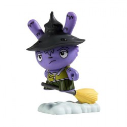 Figurine Dunny Scared Silly Which Witch is Which par Jenn & Tony Bot Kidrobot Boutique Geneve Suisse