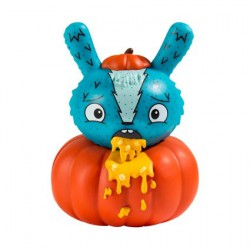 Figur Scared Silly Dunny Pumpkin Puke by Jenn & Tony Bot Kidrobot Geneva Store Switzerland