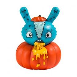 Figuren Kidrobot Dunny Scared Silly Pumpkin Puke von Jenn & Tony Bot Kidrobot Designer Toys Genf