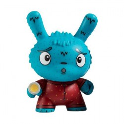 Figuren Kidrobot Dunny Scared Silly Arya Afraid of the Dark von Jenn & Tony Bot Kidrobot Designer Toys Genf
