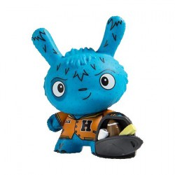 Figurine Dunny Scared Silly The Boobird par Jenn & Tony Bot Kidrobot Designer Toys Geneve